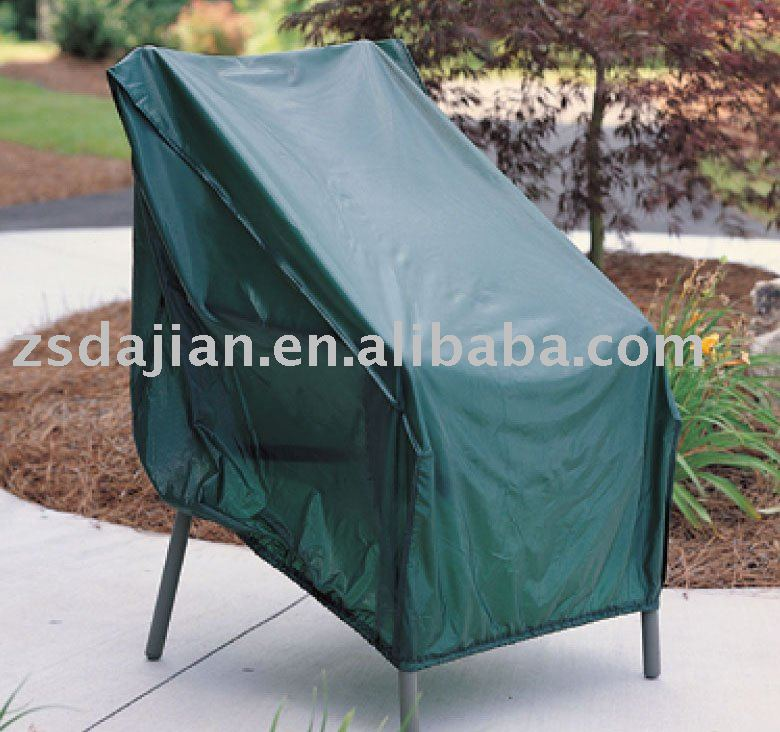 Patio Chair Cover- Outdoor Furniture with PVC/PVB/PE Polyester Backing