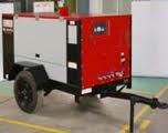 DIESEL PORTABLE SCREW AIR COMPRESSOR 400 CFM CAPACITY
