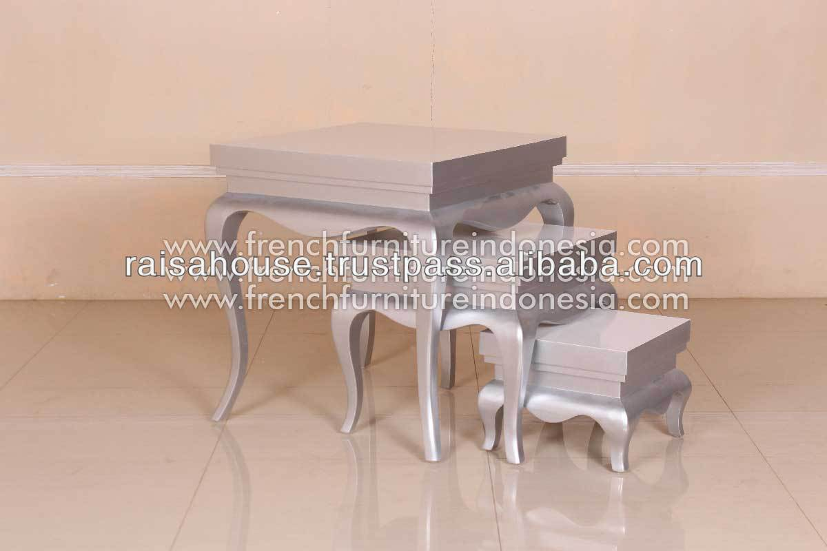 French Furniture - Nest Table Set of Three matching