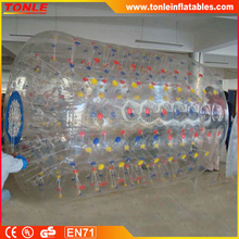 PVC/TPU Commercial Inflatable Water Roller, Inflatable Roller Ball, inflatable Floating Wheel