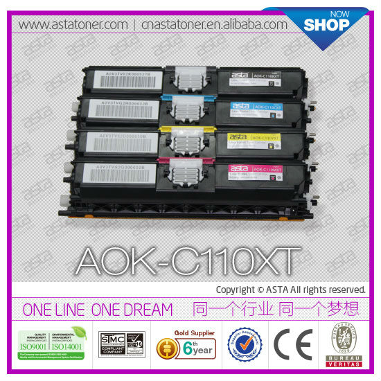 High quality compatible toner cartridge for OKI C110