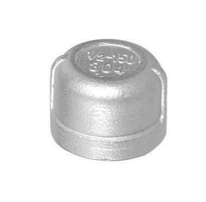 Stainless Steel Pipe Fitting Round End Female bsp thread Caps