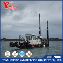 Cutter suction sand dredging machine/sand dredger for sale