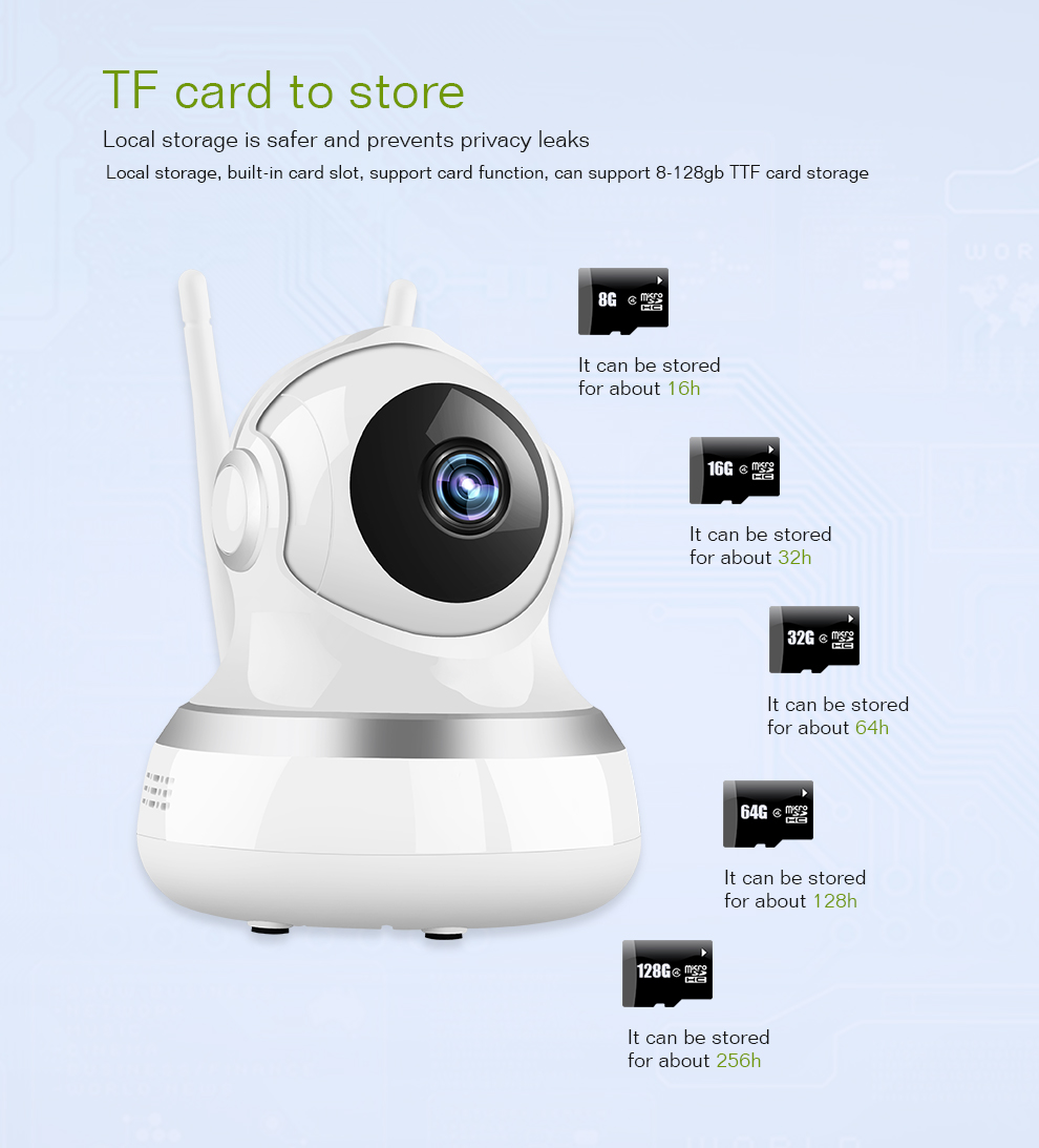 360 VR 720P Mini Home Security HD IP Camera Wireless WiFi Camera Y103S