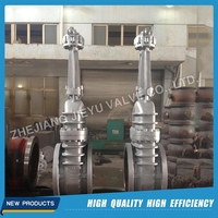 Carbon Steel 30 Inch Industrial Gate Valve For Flowing Water And Oil Medium