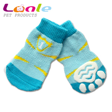 Lanle brand New Dog Puppy Cat Pet Shoes Slippers Non Slip Socks