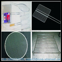 Cooking bbq grill grates wire mesh / barbecue grill mesh (Gold Supplier / China manufacturer)