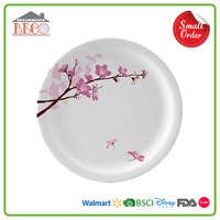 Custom Size Melamine Factory Plastic Melamine Dessert Plate With Suit Size