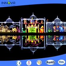 Innova- outdoor light christmas light sculptures singapore night time lantern display quotes