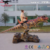 Amusement park equipment dinosaur ride for sale dino time