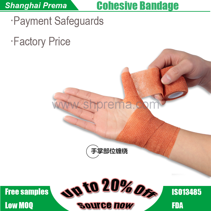 FDA Approved Elastic Tube Compress Cohesive Bandage