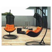 2015 outdoor furniture hammock rattan wicker swing chair