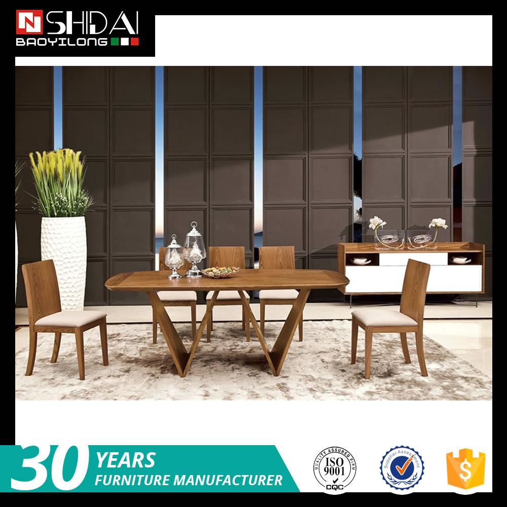 wholesale dining room furniture / wooden dining set / modern dining table set A-46