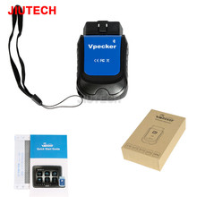 VPECKER E4 Easydiag Bluetooth <strong>Full</strong> System XTUNER OBD2 Scan Tool For Android For ABS Bleeding/Battery/DPF/EPB/<strong>Injector</strong>/Oil Reset