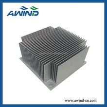 Extruded aluminium heat sink for power amplifier