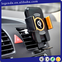 Car Wireless Charger lSHINEDA Amazon FBA service Universal Power QI Holder Wireless Charger For Cell phone