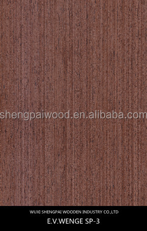 cheap artificial wenge timber palisander veneer for furniture,floor,door skin