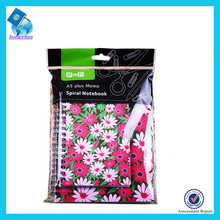 PVC Cover Notebook with Sprial