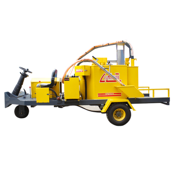 road construction surface crack treatment crack repair machine mobile floor crack reactor equipment