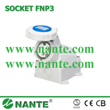 Industrial Plug and Socket 3P, 16A,32A, Waterproof IP67 Surface Mounted CEE/IEC Standard FNP3-113F