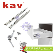 furniture hardware fittings ball bearing slides kitchen cabinet drawer guides (C37310)