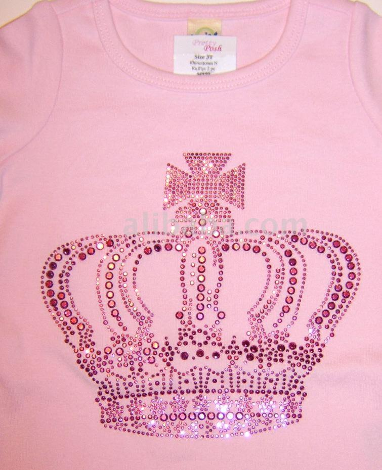 Crown Rhinestone Shirt