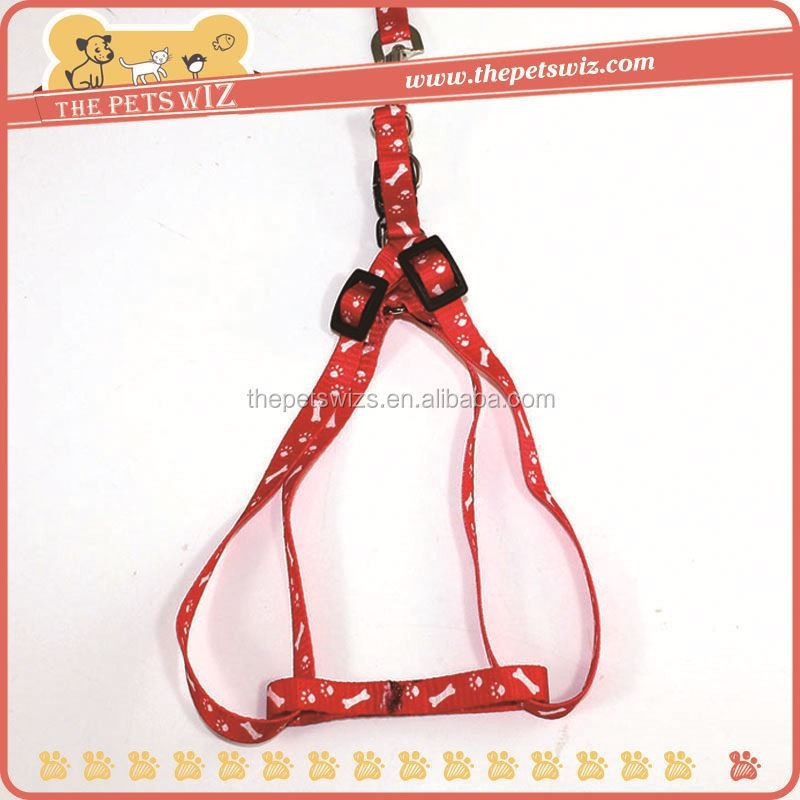 Nylon mesh dog harness ,CC094 cheap nylon dog harness with leash , dog products pet grooming