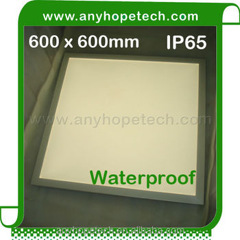 IP65 LED panels 60x60 cm with small thickness