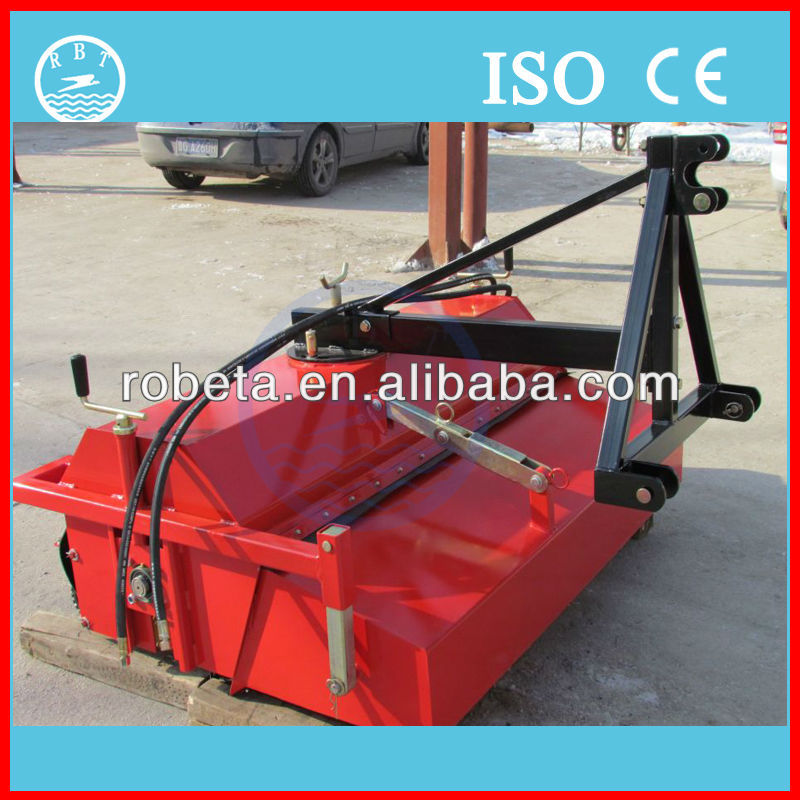 Supply best price tractor power tractor mounted road sweeper