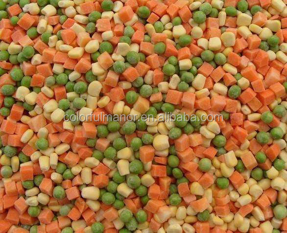 IQF grade A frozen mixed vegetables and fruit