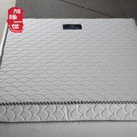 Cheap latex and coconut fiber mixed euro single bed matress price mattress coil spring