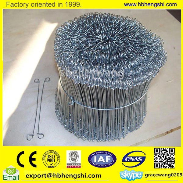 Galvanized double loop tie wire / rebar tying wire / binding wire