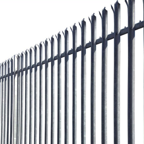 China Hottest Sale <strong>D</strong> and W type Wholesale Colorful or galvanized Steel Palisade Fence / fencing