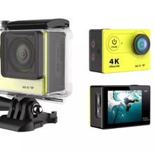 12.0 Megapixels 4K Action Camera Wi-Fi Remote Control sport camera with 170 HD wide-angle lens and support TF card up to 32