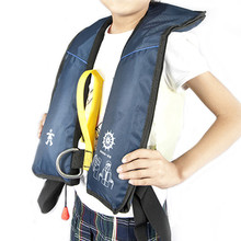 marine inflatable life jacket for child kids