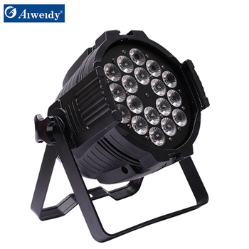 China supplier professional stage light 18*18w 6 in 1 led 54 3w par light with lower price