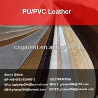 new PU/PVC Leather semi pu leather for furniture for PU/PVC Leather using