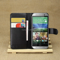 for htc one m8 mini case, mobile phone wallet stand pu leather flip cover case for htc one m8 mini
