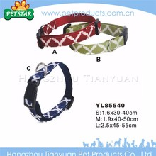 High quality cheap fashion custom design wide nylon dog collar