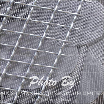 stainless steel wire mesh specification