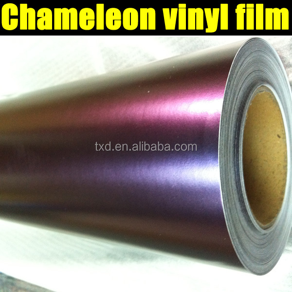 carbon fiber stickers for cars /chameleon vinyl film