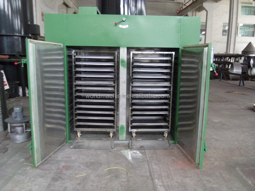 CE &ISO9001certification tray hot air circulating oven/food hot air circulating drying oven machine