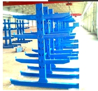 cantilever rack for pipe or long shape cargos storage