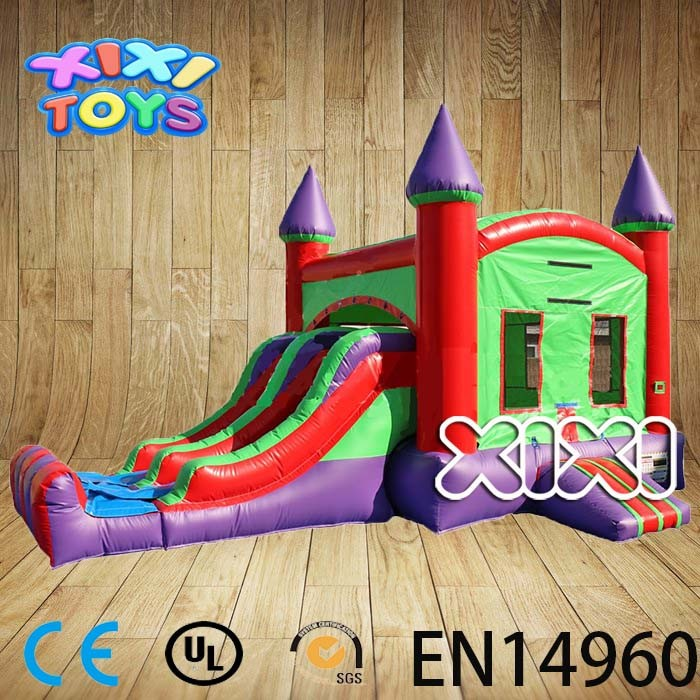 Commercial Inflatable Bouncer Slide, Bouncer with slide,