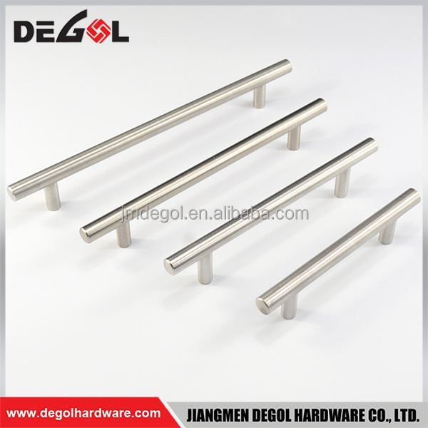 Hot Sale Best selling stainless steel solid D shape flush wardrobe furniture bar pull