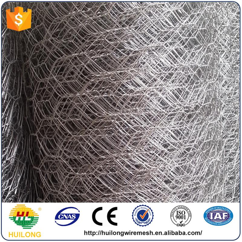 Factory direct Chicken mesh/ Galvanized Hexagonal Wire Mesh