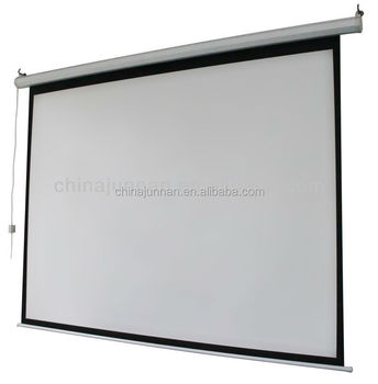 different size of the Junnan roll up projector screen