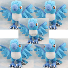 "18cm/7"" Ice Storm Bird Pokemon Doll Baby Toy Pokemon Articuno Pokeball Stuffed Animal"