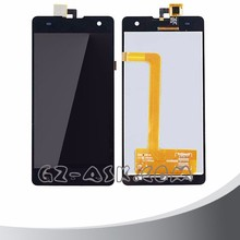 black for Myphone Cube mobile phone lcd display screen with touch panel glass digitizer assembly