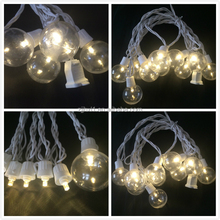 2017 New Style Electric Outdoor G40 Bulbs Globe Lovely Leisure Decorative Holiday Colorful String Lights